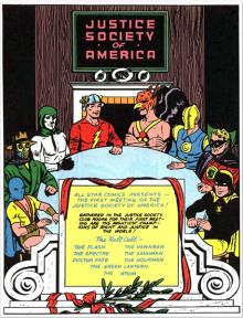 Justice Society of America 75th Anniversary