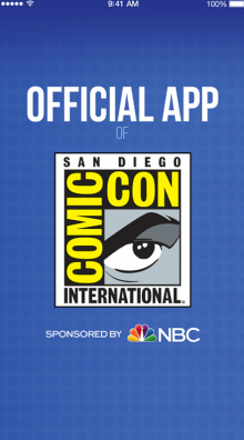 Official Comic-Con App Updated for 2017