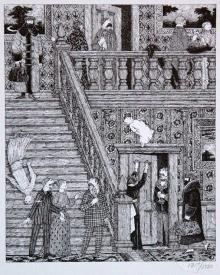 Edward Gorey for the Will Eisner Hall of Fame 2016