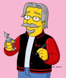 Matt Groening for the Will Eisner Hall of Fame 2016