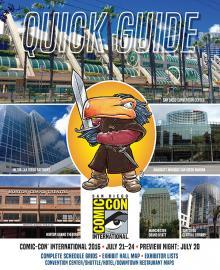 Comic-Con International 2016 Quick Guide