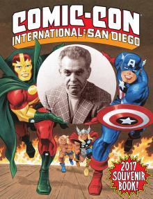 Comic-Con International 2017 Souvenir Book Cover by Bruce Timm