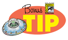 Comic-Con International 2018 Toucan Tip of the Day
