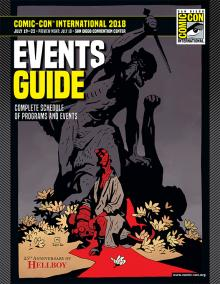 Comic-Con International 2018 Events Guide Cover