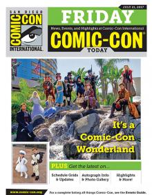 Comic-Con Today Onsite Daily Newsletter