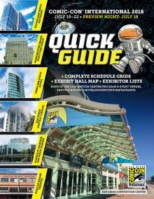 Comic-Con International 2018 Quick Guide