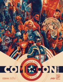 Comic-Con 2018 Souvenir Book
