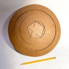 Comic-Con Museum@Home Presents Cardboard Superheroes Video Tutorial #5