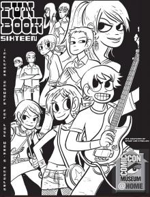 Comic-Con Museum@Home Fun Book 16: Scott Pilgrim vs. the World