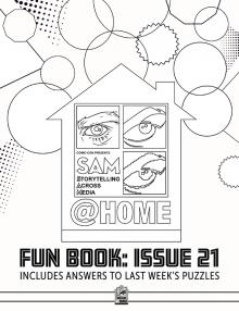 Comic-Con Museum@Home Fun Book #21: SAM@Home