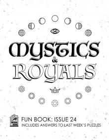 Comic-Con Museum@Home Fun Book #24: Mystics & Royals