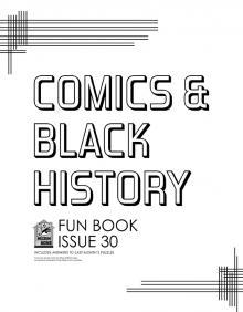 Comic-Con Museum@Home Fun Book #30: Comics & Black History