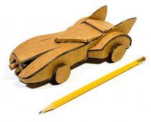 Comic-Con Museum@Home Presents Cardboard Superheroes Video Tutorial #8: The Batmobile