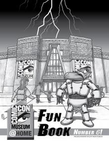 Comic-Con Museum@Home Fun Book #6