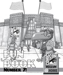 Comic-Con Museum@Home Fun Book #7