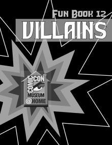 Comic-Con Museum@Home Fun Book #12