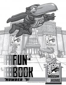 Comic-Con Museum Presents Fun Book Number 9