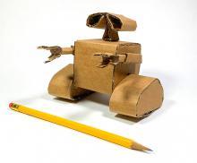 Wall-E Cardboard Superhero