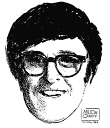 Bob Clampett by Milton Caniff