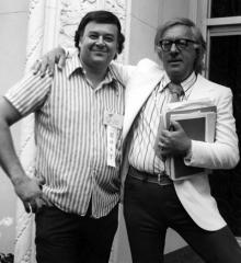 Shel Dorf and Ray Bradbury