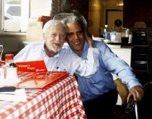 Ken Krueger with Jim Valentino