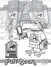 Comic-Con Museum@Home Fun Book #2