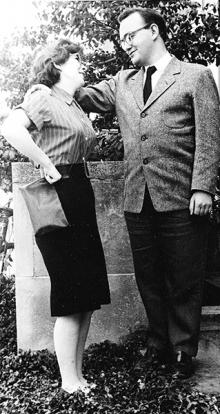 Maggie and Don in 1962
