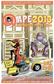 APE 2013 Poster by Colleen Coover