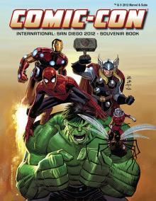Comic-Con International 2012 Souvenir Book Cover