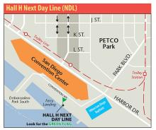 Hall H Next Day Line