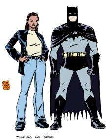 Josie Mac and Batman