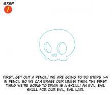 Evil Island Lair Step 1