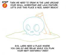 Evil Island Lair Step 3