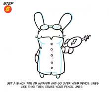 Bunny Step 5