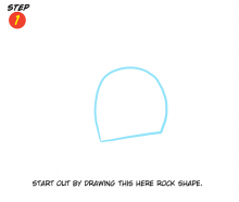 You Can Draw ... with Katie Cook! Step 1