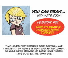 You Can Draw a Thanksgiving Turkey!