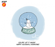 You Can Draw ... A Snow Globe!
