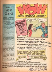 Otto Binder Signed and Identified Comic