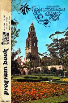 1970 San Diego Comic-Con Program Book Page 1