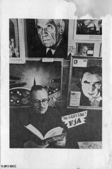 1970 San Diego Comic-Con Program Book Page 2
