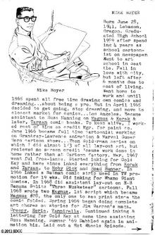 1970 San Diego Comic-Con Program Book Page 5
