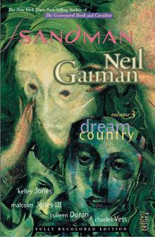 Sandman volume 3 by Neil Gainan