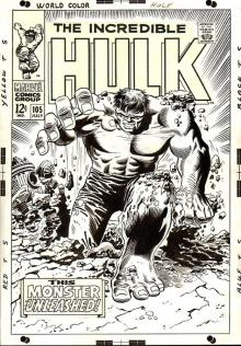 Incredible Hulk 105 by Marie Severin