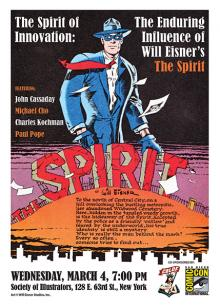 Comic-Con International and the CBLDF present the Enduring Influence of Will Eisner's The Spirit