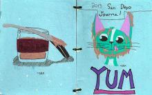 Comic-Con Journal Cover