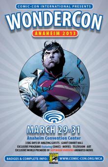 WonderCon Anaheim 2013 DC Comics Ad