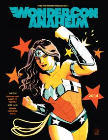 WonderCon Anaheim 2014 Program Book Cover