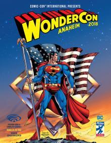 WonderCon Anaheim 2018 Program Book Cover