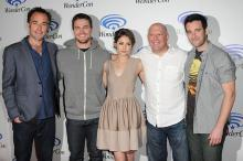 Arrow Cast at WonderCon Anaheim