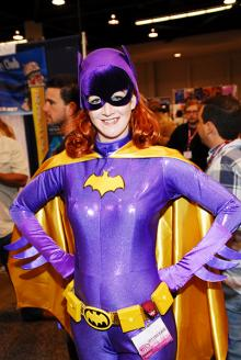 Batgirl at WonderCon Anaheim